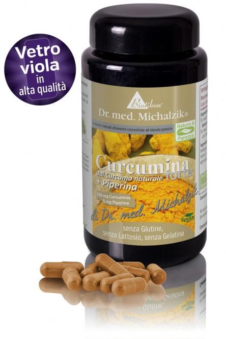 Curcumina  forte  da curcuma bio  + Piperina
