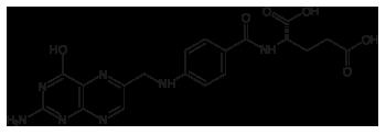acido folico formula strutturale